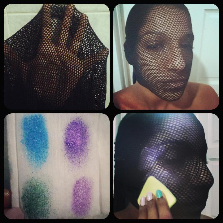 dark skin halloween makeup | Deeper Than Fashion
