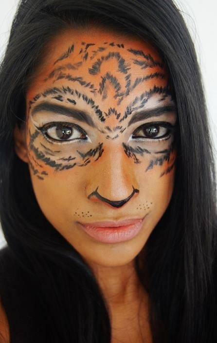 TiC Contribution; Tiger Face MakeUp Tutorial | Deeper Than Fashion