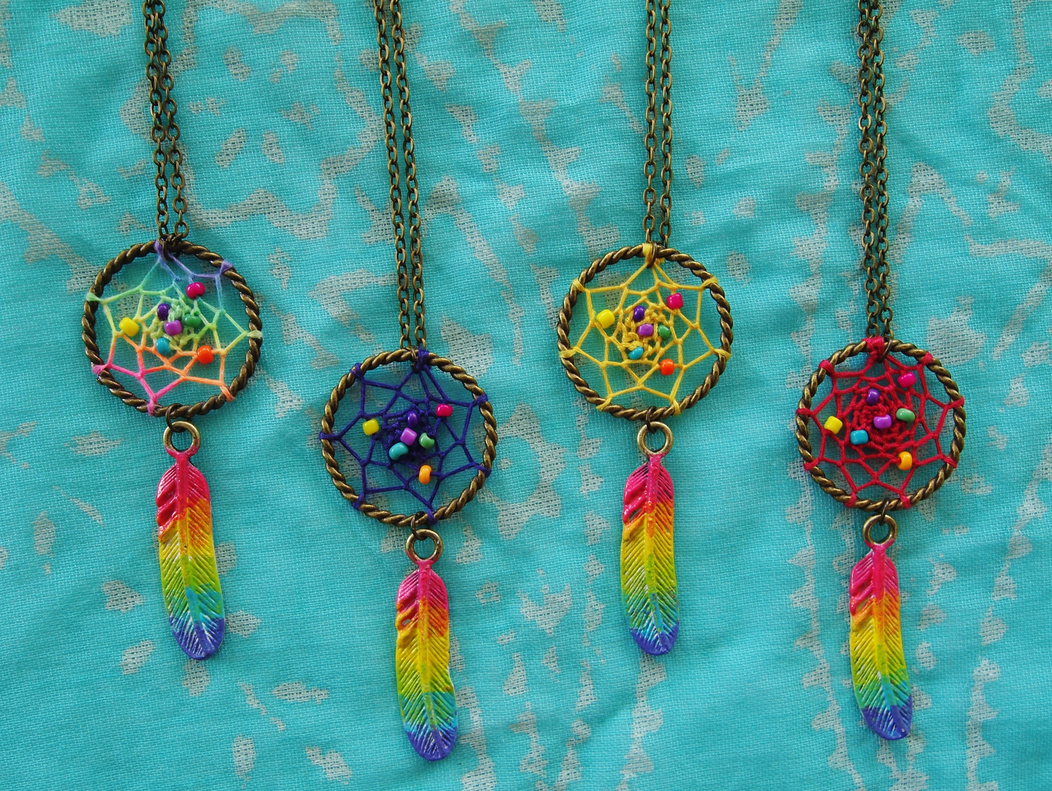 How To Make Dream Catcher Necklace handmade dreamcatchers malaysia Deeper Than Fashion 21
