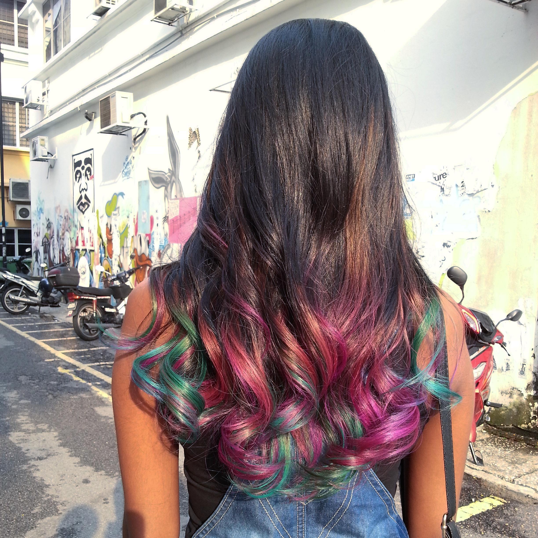 Dip Dye Hair Malaysia Deeper Than Fashion