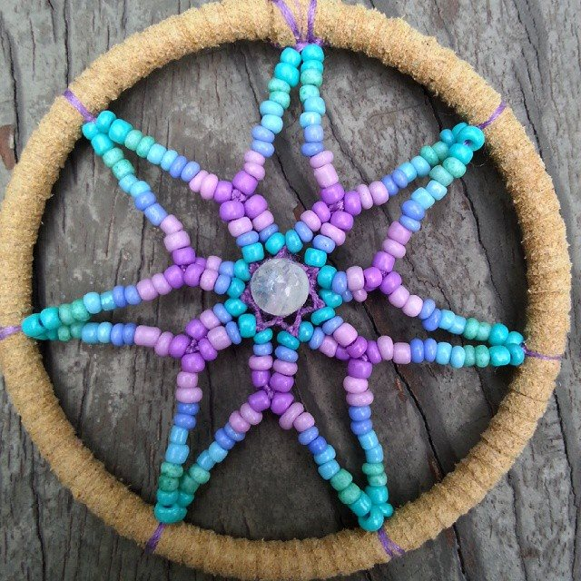 Beaded Dream Catchers Patterns dreamcatchers Deeper Than Fashion 6